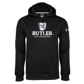 Under Armour Black Performance Sweats Team Hoodie-Cheerleading
