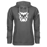 Adidas Climawarm Charcoal Team Issue Hoodie-Bulldog Head