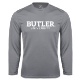 Syntrel Performance Steel Longsleeve Shirt-Butler University