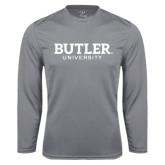 Performance Steel Longsleeve Shirt-Butler University