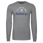 Grey Long Sleeve T Shirt-The Butler Way