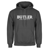 Charcoal Fleece Hoodie-Butler University