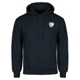 Navy Fleece Hoodie-White Tag Trip