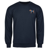 Navy Fleece Crew-Ivy League