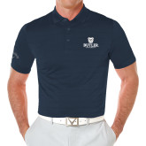 Callaway Opti Vent Navy Polo-Butler University Stacked Bulldog Head