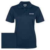 Ladies Navy Dry Mesh Polo-Butler