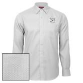 Red House White Diamond Dobby Long Sleeve Shirt-Bulldog Head