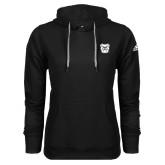 Adidas Climawarm Black Team Issue Hoodie-Bulldog Head