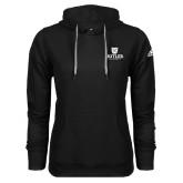 Adidas Climawarm Black Team Issue Hoodie-Butler University Stacked Bulldog Head