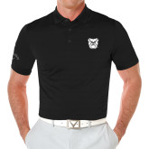 Callaway Opti Vent Black Polo-Bulldog Head
