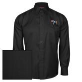 Red House Black Herringbone Long Sleeve Shirt-Ivy League