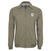 Khaki Players Jacket-Bulldog Head