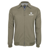 Khaki Players Jacket-Butler University Stacked Bulldog Head
