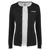Ladies Black Cardigan-Butler