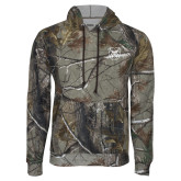Realtree Camo Fleece Hoodie-Bulldog Head