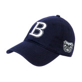 Navy Twill Unstructured Low Profile Hat-Butler B
