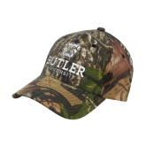 Mossy Oak Camo Structured Cap-Butler University Stacked Bulldog Head