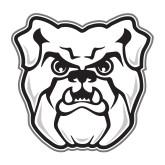 Medium Magnet-Bulldog Head, 8 inches tall