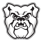 Large Magnet-Bulldog Head, 12 inches tall