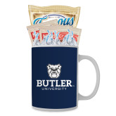 Cookies N Cocoa Gift Mug-Butler University Stacked Bulldog Head
