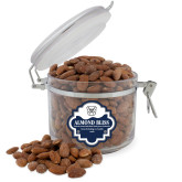 Almond Bliss Round Canister-Bulldog Head