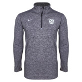 NIKE Navy Heather Element 1/4 Zip-