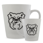 Full Color Latte Mug 12oz-Bulldog Head