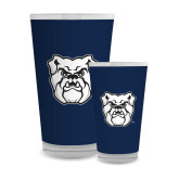 Full Color Glass 17oz-Bulldog Head