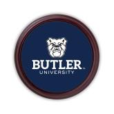 Round Coaster Frame w/Insert-Butler University Stacked Bulldog Head
