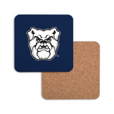Hardboard Coaster w/Cork Backing-Bulldog Head