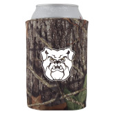 Collapsible Camo Can Holder-Bulldog Head