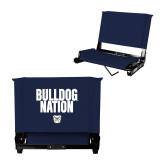 Stadium Chair Navy-Bulldog Nation
