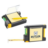 Measure Pad Leveler 6 Ft. Tape Measure-Butler University Stacked Bulldog Head