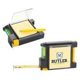 Measure Pad Leveler 6 Ft. Tape Measure-Butler University Stacked Bulldog Head