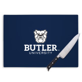 Cutting Board-Butler University Stacked Bulldog Head