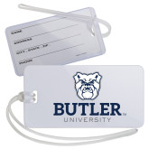 Luggage Tag-Butler University Stacked Bulldog Head