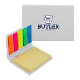 Micro Sticky Book-Butler University Stacked Bulldog Head
