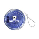 Light Up Blue Yo Yo-Butler University Stacked Bulldog Head