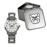 Mens Stainless Steel Fashion Watch-Bulldog Head