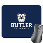 Full Color Mousepad-Butler University Stacked Bulldog Head