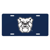 License Plate-Bulldog Head