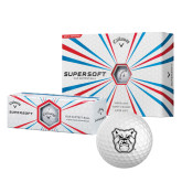 Callaway Supersoft Golf Balls 12/pkg-Bulldog Head