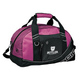 Ogio Pink Half Dome Bag-Butler University Stacked Bulldog Head