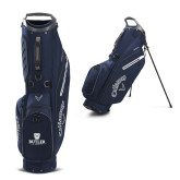 Callaway Hyper Lite 4 Navy Stand Bag-Butler University Stacked Bulldog Head