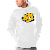 Under Armour White Armour Fleece Hoodie-Mascot Head