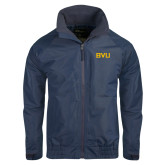 Navy Charger Jacket-BVU Monogram