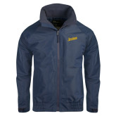 Navy Charger Jacket-Beavers Script