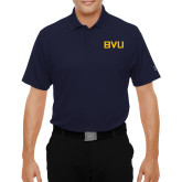 Under Armour Navy Performance Polo-BVU Monogram