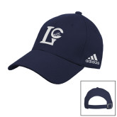 Adidas Navy Slouch Unstructured Low Profile Hat-LC Lake Creek