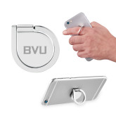 Aluminum Cell Phone Ring/Stand-BVU Monogram Engraved